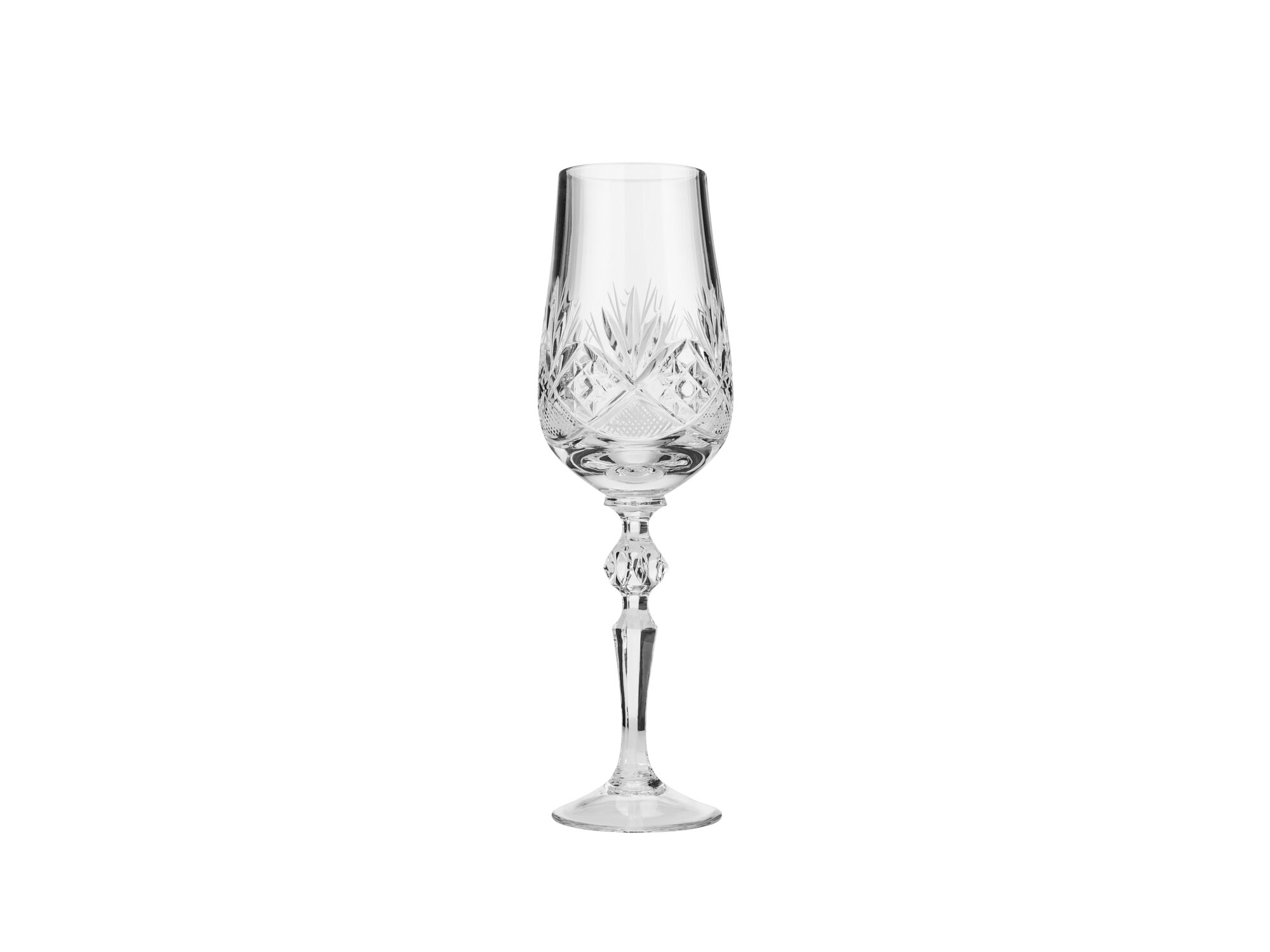 Astoria Grand Southa 6 Oz Crystal Flute Wayfair