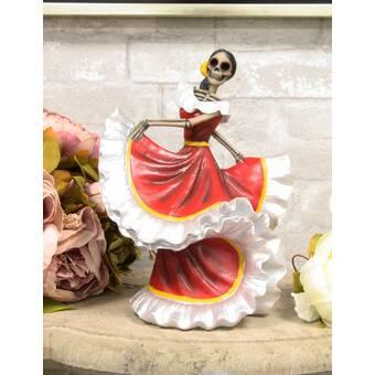 NOVICA 258356 Ballet Dancer II Wood Statuette