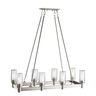 Kichler Circolo 8 Light Candle-Style Chan..