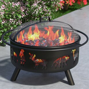Regal Flame Wild Life Outdoor Steel Wood ..