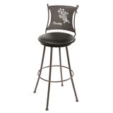 Ching Swivel Bar & Counter Stool by Fleur De Lis Living