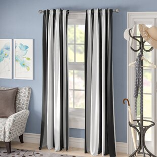 Room Darkening Striped Curtains Drapes You Ll Love In 2021 Wayfair