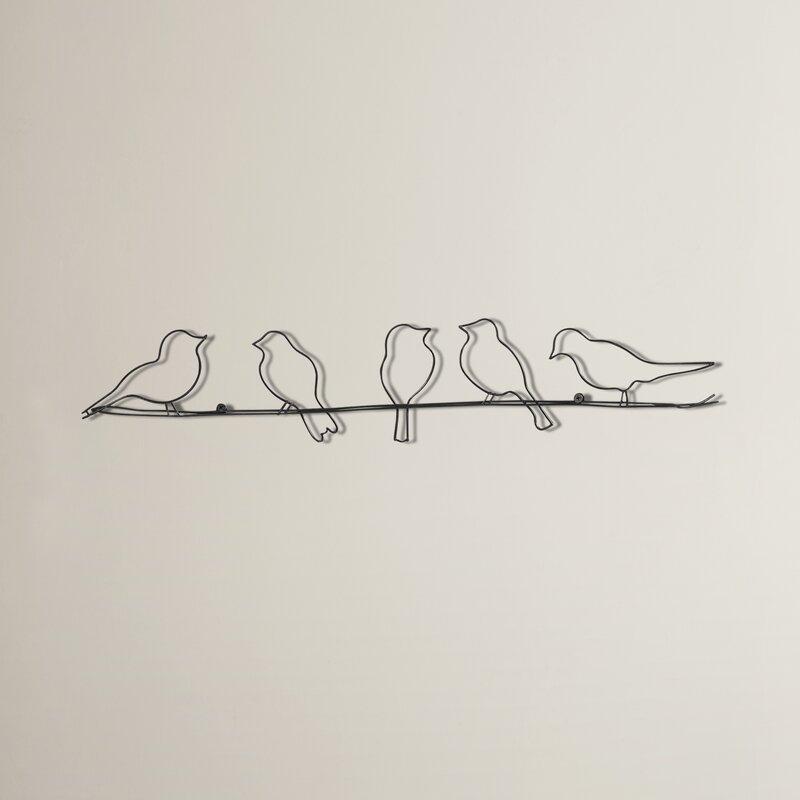 Wonderful Rioux Birds On A Wire Wall Décor
