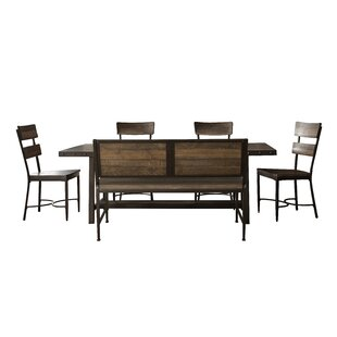 Putney 6 Piece Solid Wood Dining Set Gracie Oaks