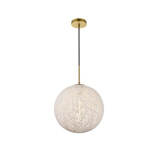 Alfonso 1-Light Globe Pendant