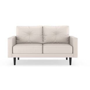 Shop Schiavo Vegan Loveseat by Orren Ellis