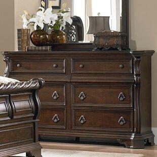 Astoria Grand Kate 6 Drawer Double Dresser