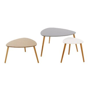 Agnes 3 Piece Coffee Table Set By Hashtag Home