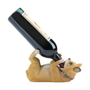 Chihuahua 1 Bottle Tabletop Wine Rack by Zingz & Thingz
