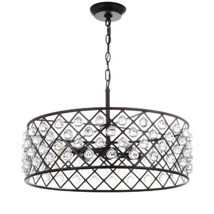 House of Hampton Chesler 4-Light Drum Chandelier