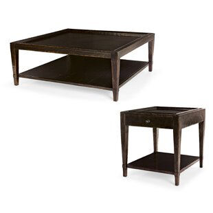 Vintage Patina 2 Piece Coffee Table Set