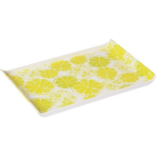 Citrus Slice Melamine Serving Tray