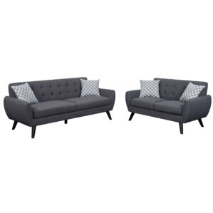 Carlson 2 Piece Living Room Set by Mercury Row