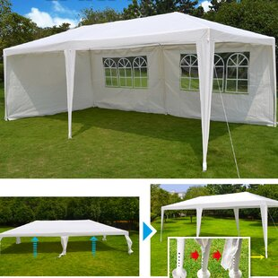 20 Ft. W x 10 Ft. D Steel Party Tent by Sunrise Outdoor LTD