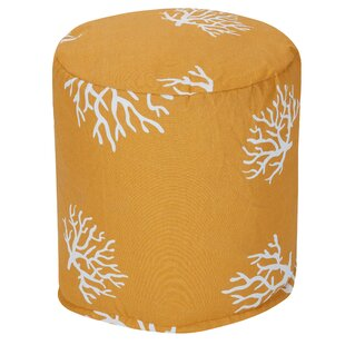 Majestic Home Goods Coral Small Pouf