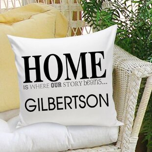Personalized Gift Couples and Love Cotton Throw Pillow