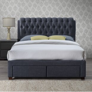Review Valerie Upholstered Storage Bed