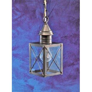 Breakwater Bay Cormorant 1-Light Outdoor Hanging Lantern