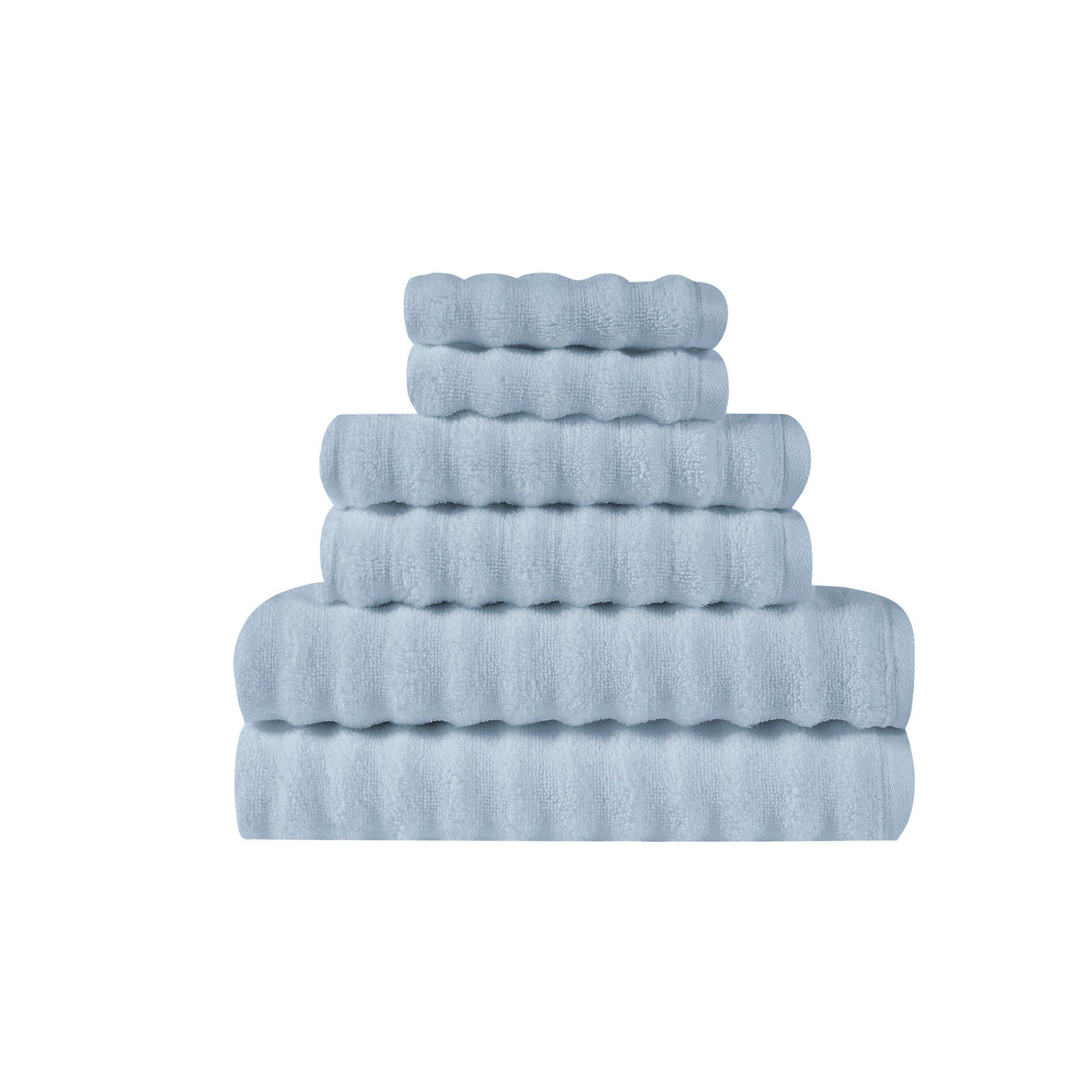 Latitude Run Bollens Zero Twist 6 Piece 100 Cotton Towel Set Wayfair