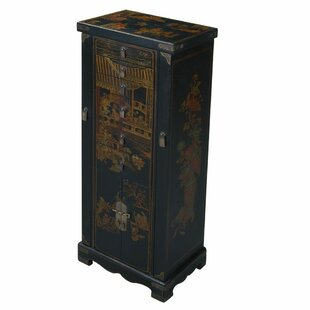 EXP Décor Handmade Oriental Antique Style Jewelry Armoire