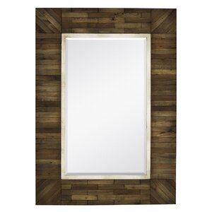 mirror with country style natural wood frame - Natural Wood Frames