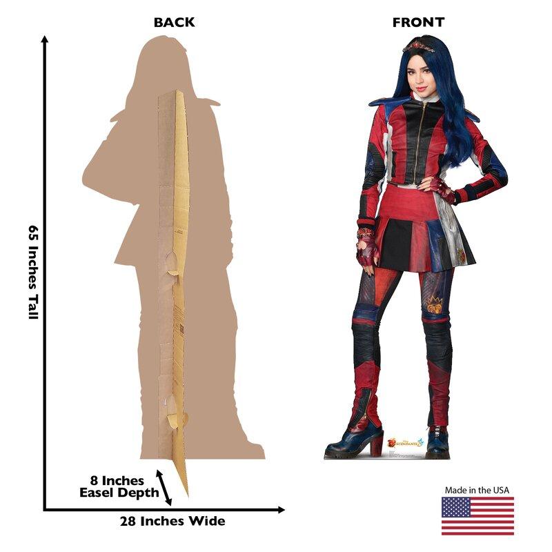Evie Disney's Descendants 3 Cardboard Standup