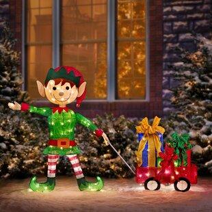 Outdoor Elf Decorations Wayfair
