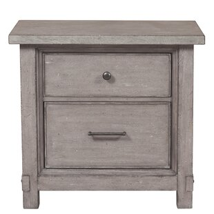 Devers 2 Drawer Nightstand