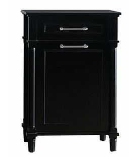 Continental Hamper 1 Drawer and 1 Door Accent Cabinet By Laviva
