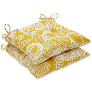 Addie Indoor/Outdoor Dining Chair Cushion (Set of 2)