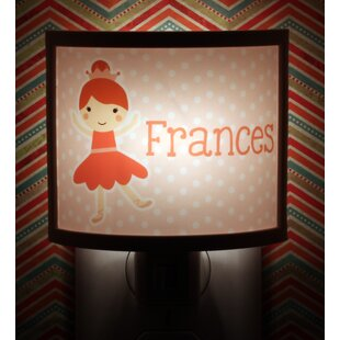 Common Rebels Ballerina Personalized Night Light