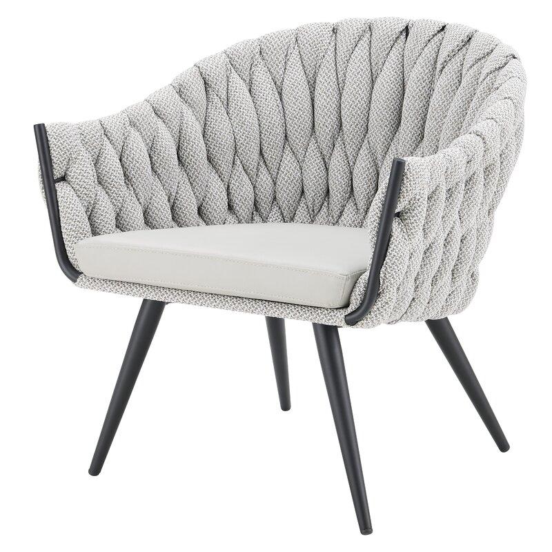 Ebern Designs Bohanon Barrel Chair Wayfair