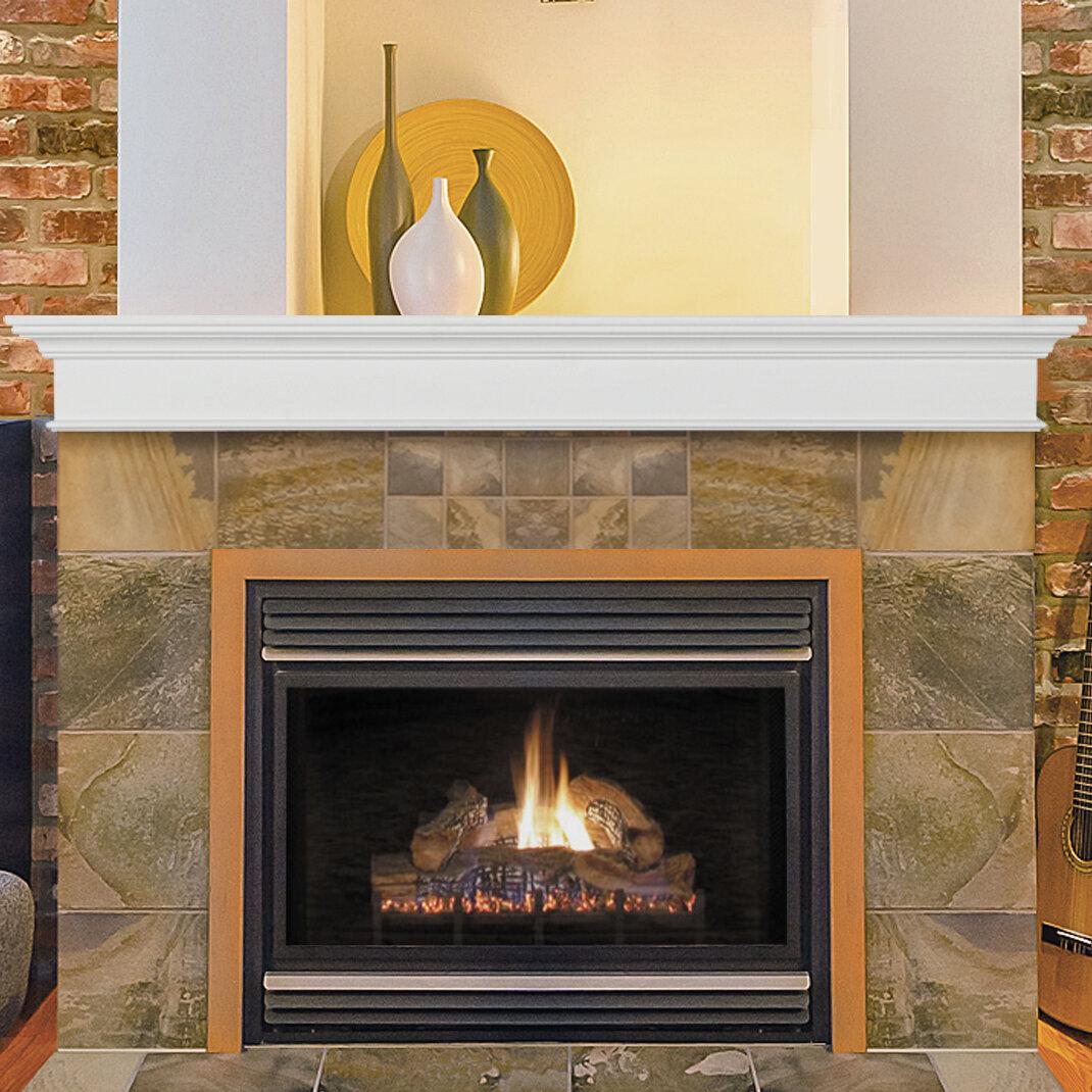 Pearl Mantels Henry Fireplace Shelf Mantel Reviews Wayfair