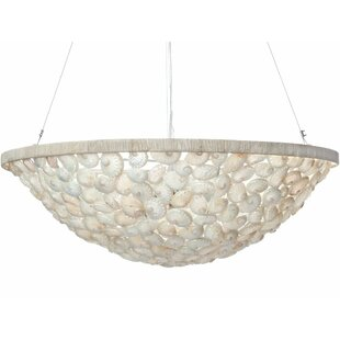 Kouboo Abalone 3-Light Bowl Pendant