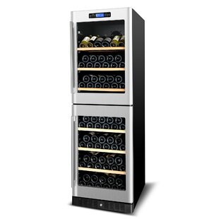 Kucht 155 Bottle Dual Zone Freestanding Wine Cellar