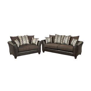 Savings Paleczny Chenille 2 Piece Living Room Set by Ebern Designs Reviews (2019) & Buyer's Guide