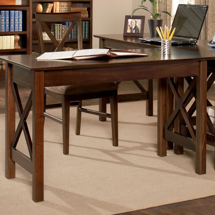 Phenomenal Tolley Solid Wood Desk Home Interior And Landscaping Synyenasavecom