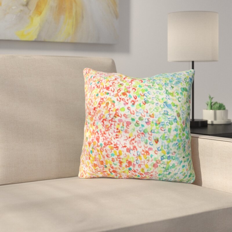 East Urban Home Colors Outdoor By Laura Trevey Throw Pillow Wayfair