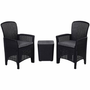 Nantan 2 Seater Bistro Set With Cushions By Sol 72 Outdoor