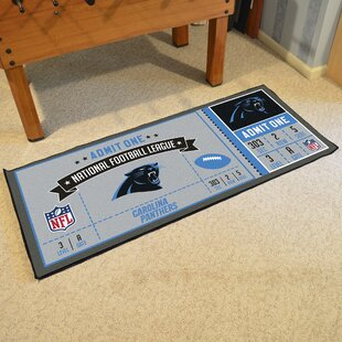 Ticket Runner Doormat By FANMATS