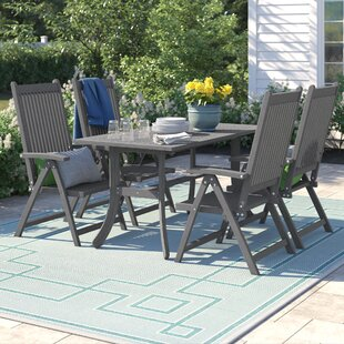 Matoury 5 Piece Dining Set by Sol 72 Outd..