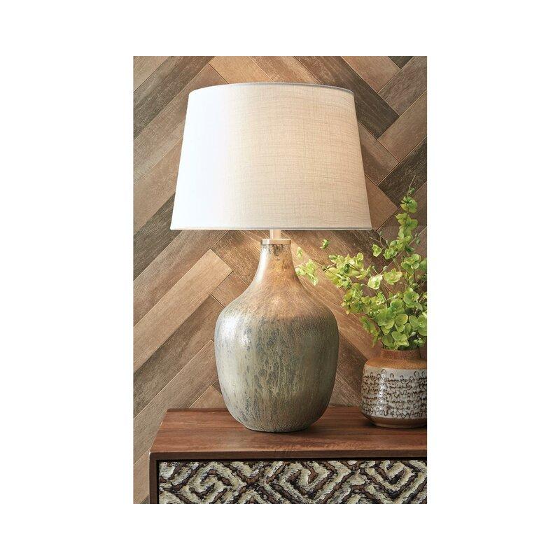 Union Rustic Monico 27 25 Gold Table Lamp Wayfair