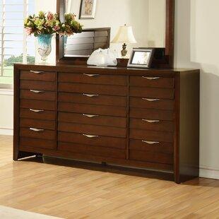 Wildon Home ® Lancaster 12 Drawer Double Dresser Image