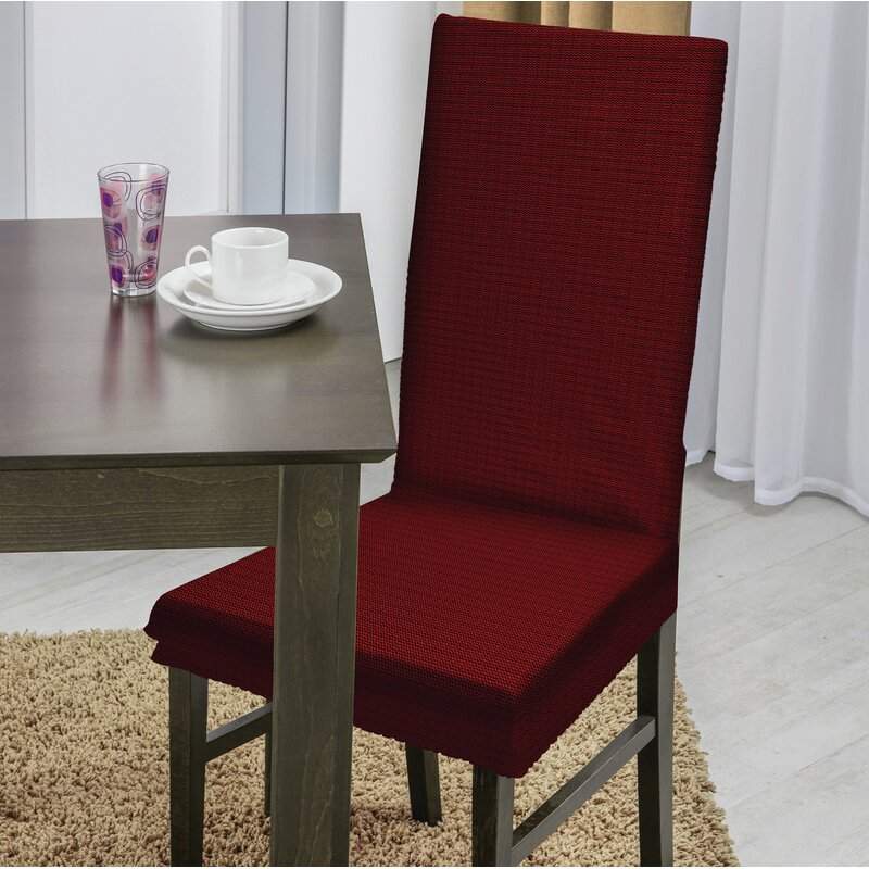 Dining Chair T-Cushion Slipcover - Red Barrel Studio Dining Chair T-Cushion Slipcover Wayfair