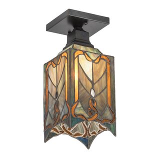 Alsey 1-Light Semi Flush Mount by Bloomsbury Market