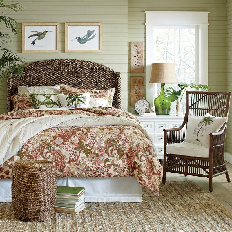 Birch Lane™ Naples Seagrass Stool & Reviews   Birch Lane