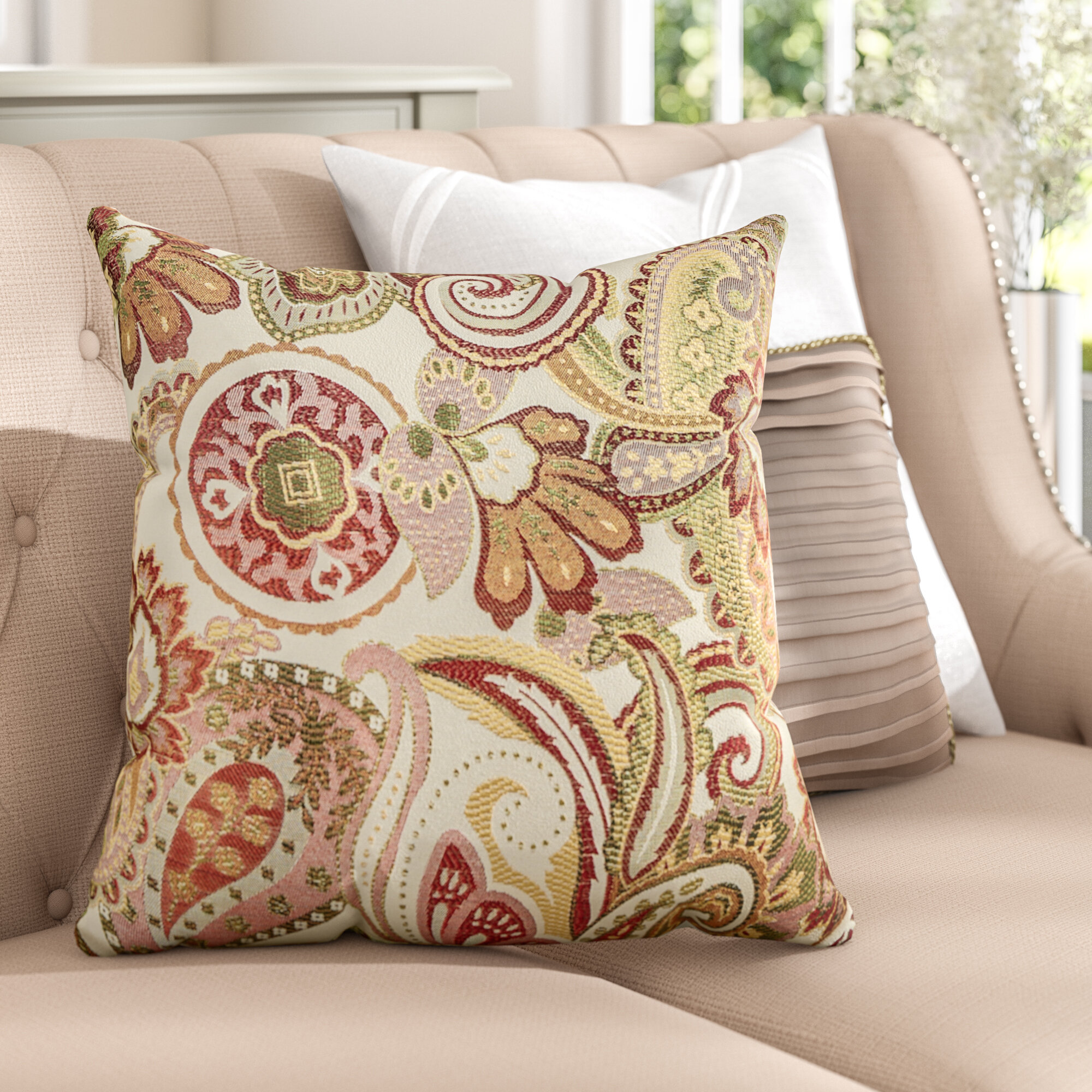 three posts gladden square throw pillow & reviews   wayfair What Is a Throw Pillow