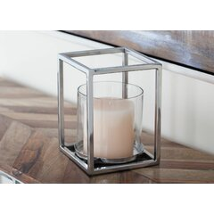 Hurricane Stainless Steel Candle Holders You Ll Love In 2021 Wayfair