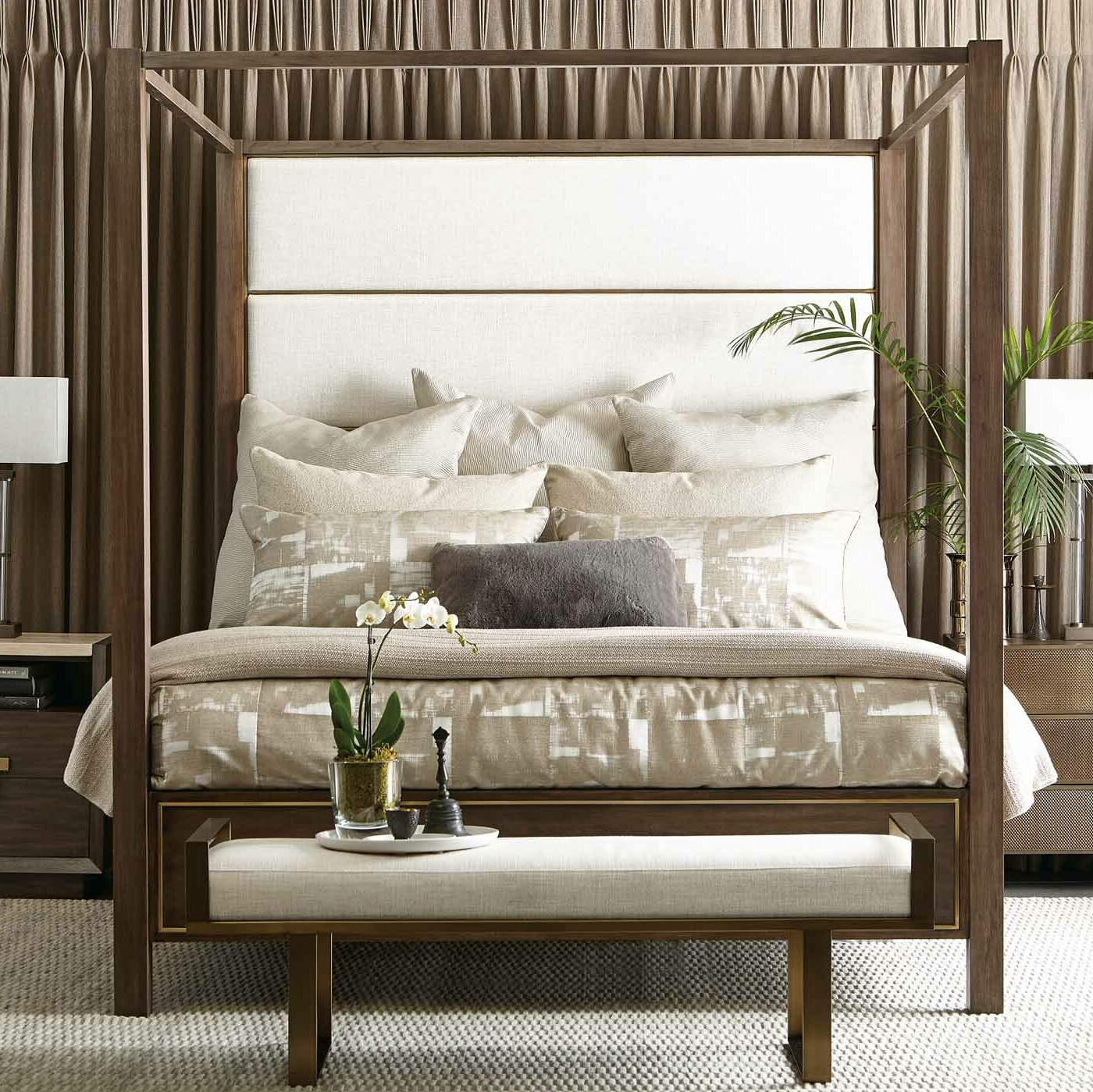 Profile King Canopy Bed
