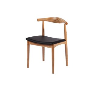 Mid Century Solid Wood Dining Chair by Commercial Seating Products